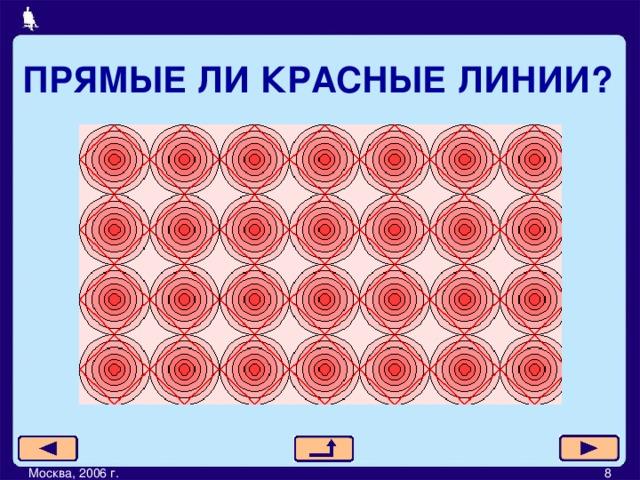 ПРЯМЫЕ ЛИ КРАСНЫЕ ЛИНИИ?  Москва, 2006 г.         8