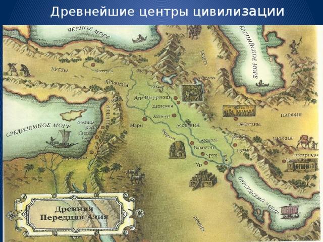 Древнейшие центры цивили зации