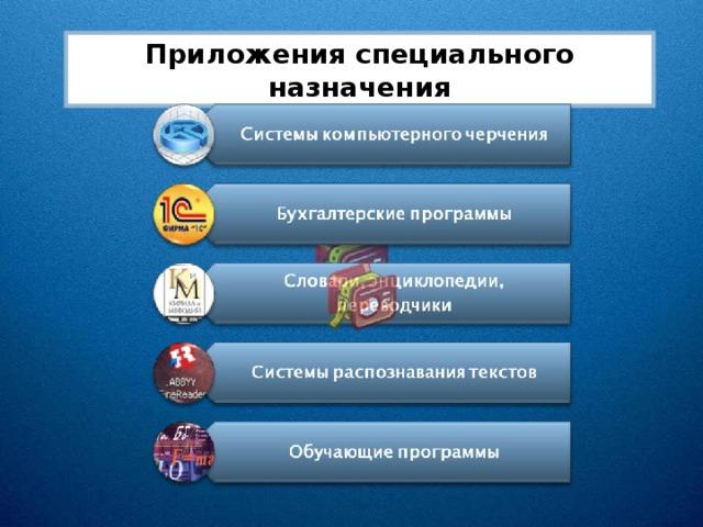 Приложения специального назначения