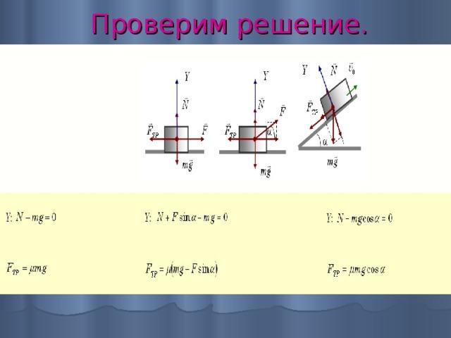 Решение задач на силу трения покоя физика задачи с подробным решением