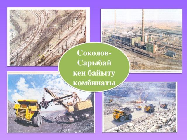 Соколов-Сарыбай кен байыту комбинаты