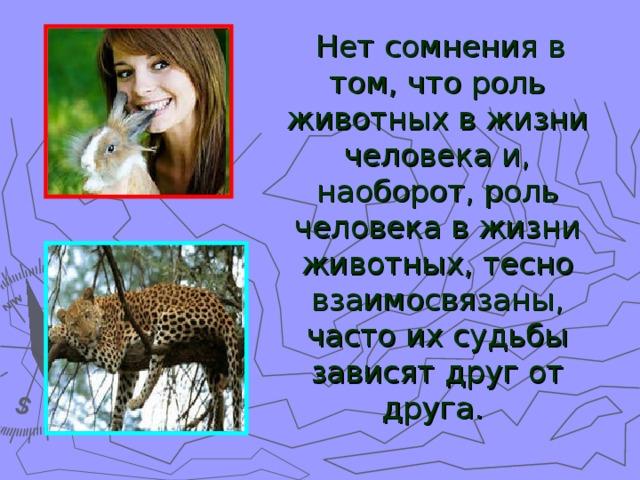 Реферат на тему значение животных в природе 3792