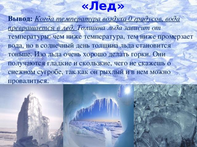 картинки как вода превращается в лед эмблема