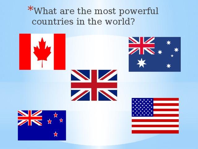 свойства флаги англоязычных стран картинки песни