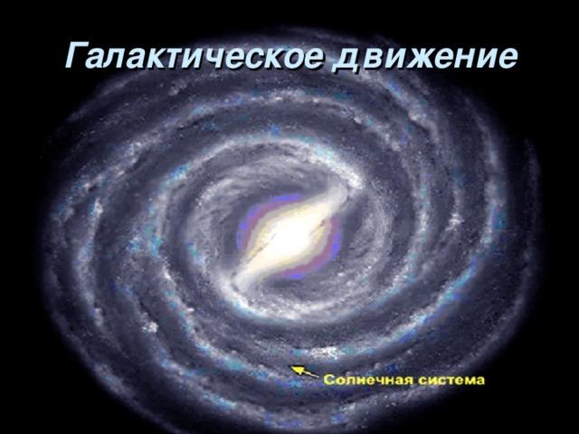 Галактическое движение
