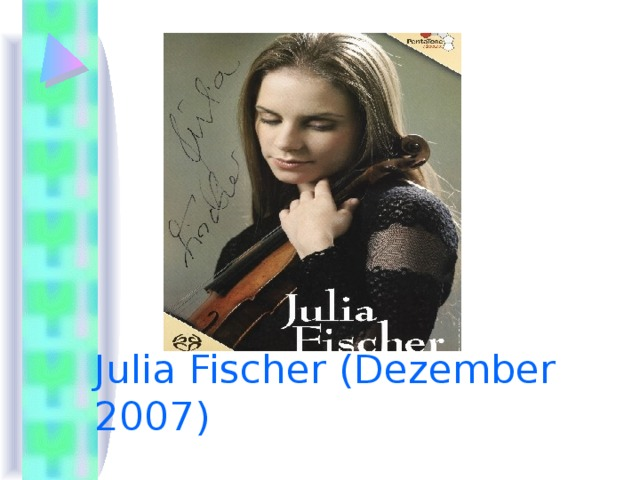 Julia Fischer (Dezember 2007)
