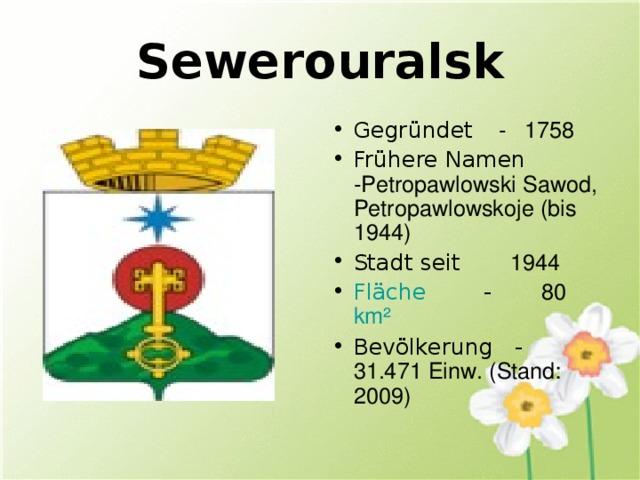 Sewerouralsk