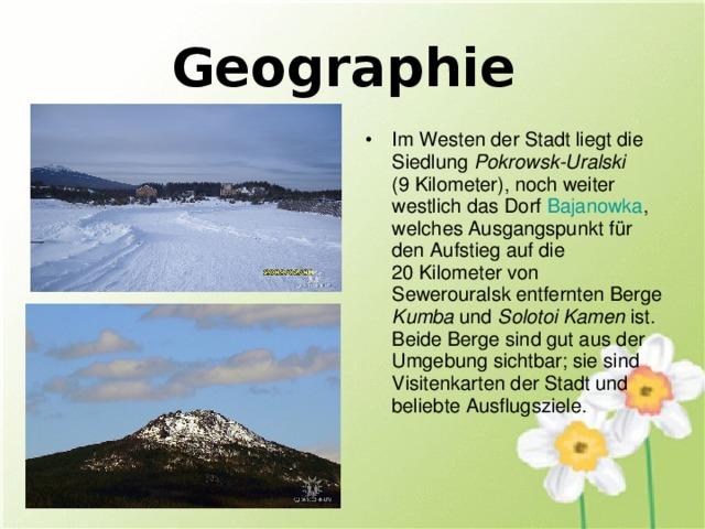 Geographie