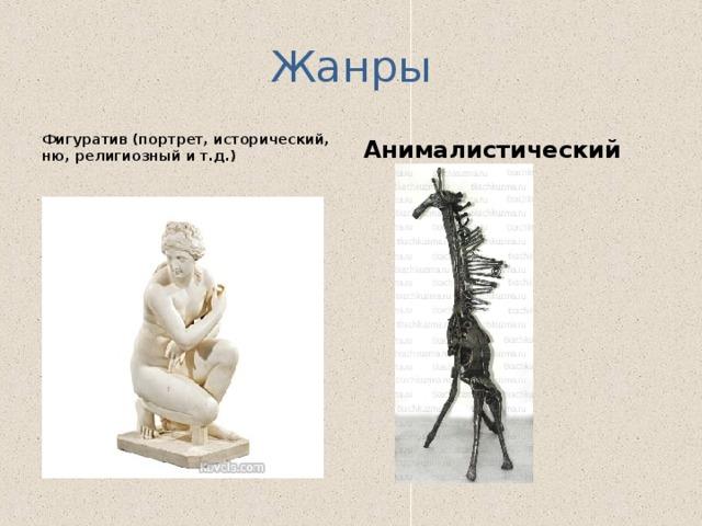 Жанры Фигуратив (портрет, исторический, ню, религиозный и т.д.) Анималистический