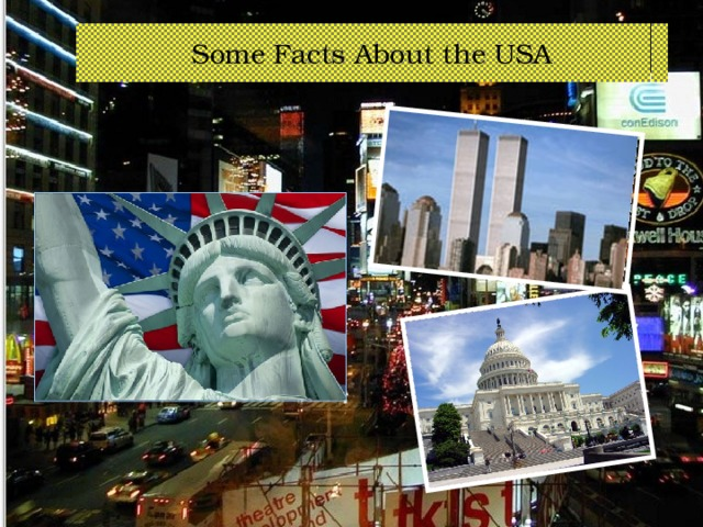 Some Facts About the USA