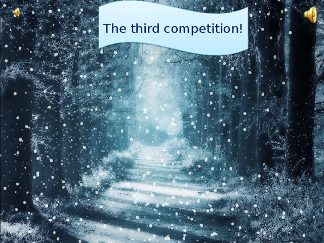 The third competition!