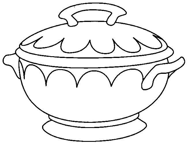 Картинки рисунки посуда