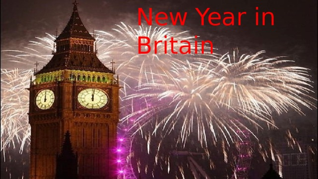 New Year in Britain
