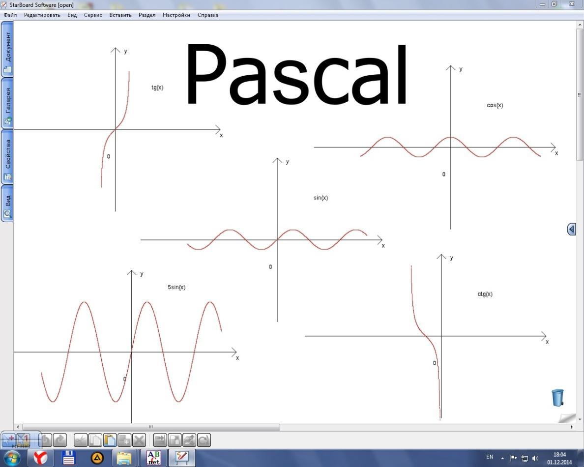 Решение задачи на паскаль график онлайн решение динамических задач