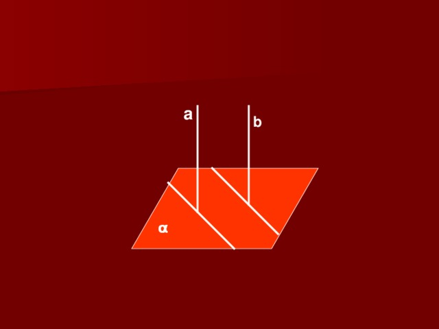 a b  α