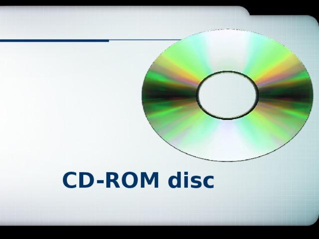 CD-ROM disc