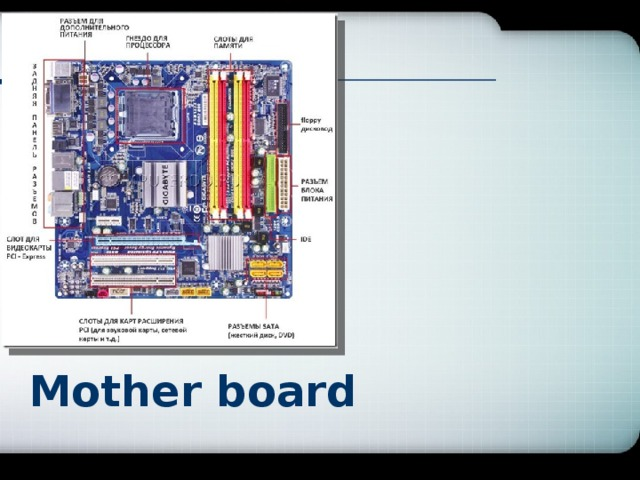 Mоther board