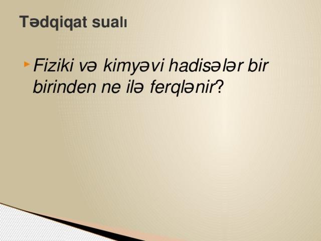 Tədqiqat sua lı