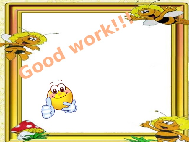 Good work!!!