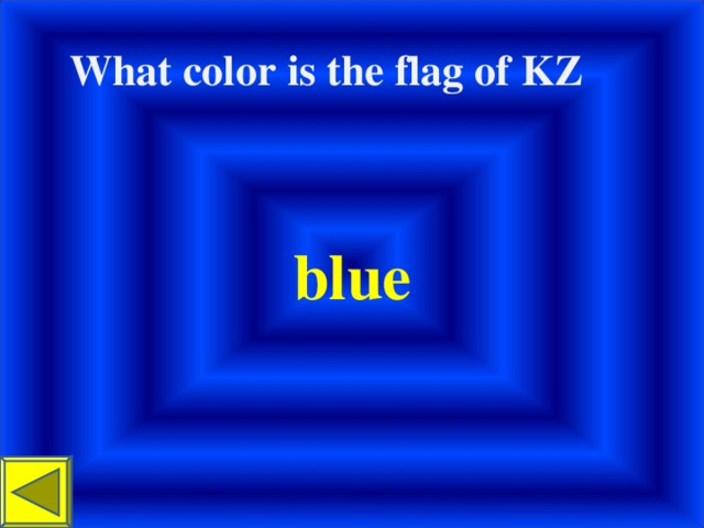 What color і s the flag of KZ  blue
