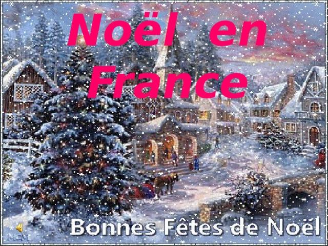 Noёl en France