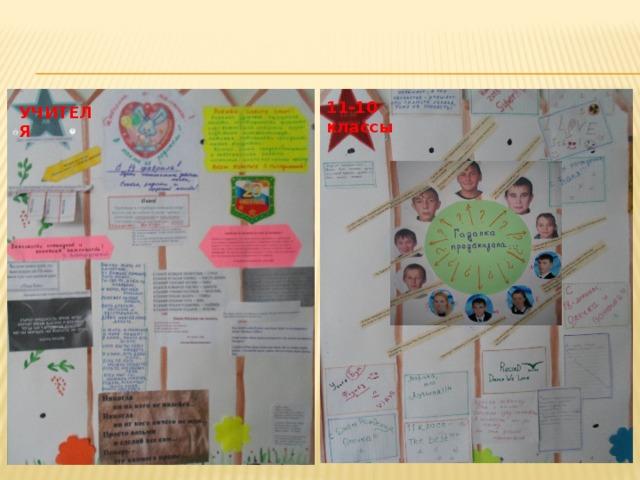 11-10 классы УЧИТЕЛЯ
