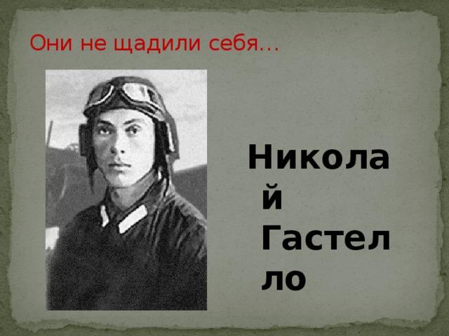 Они не щадили себя… Николай Гастелло