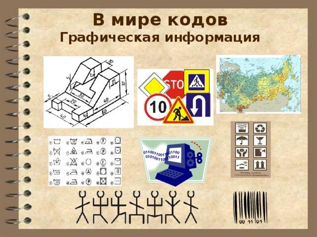 В мире кодов  Графическая информация