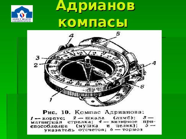 Адрианов  компасы