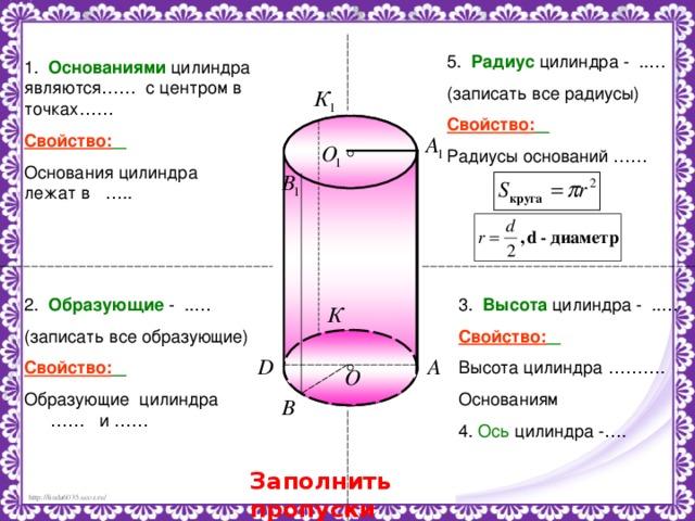 Задачи на цилиндр с решением из егэ текстовые задачи егэ 2016 математика с решением
