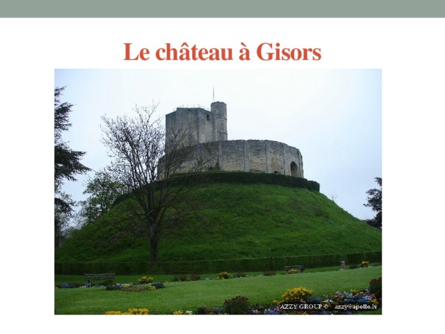 Le château à Gisors
