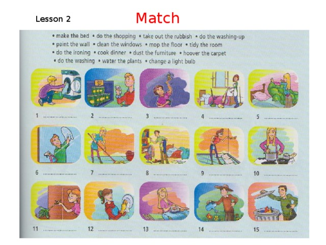 Match Lesson 2
