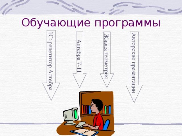 Алгебра 7-11 1С: репетитор Алгебра Авторские презентации Живая геометрия