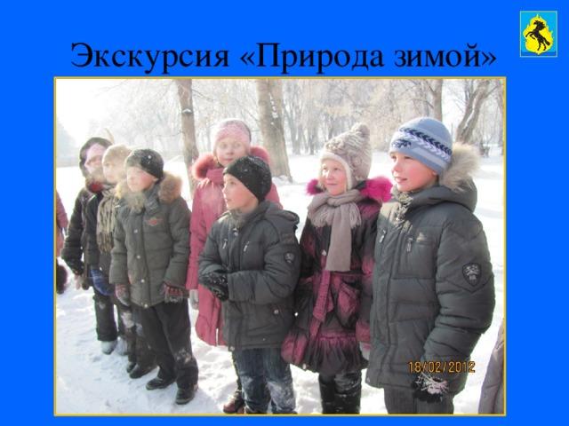 Экскурсия «Природа зимой»