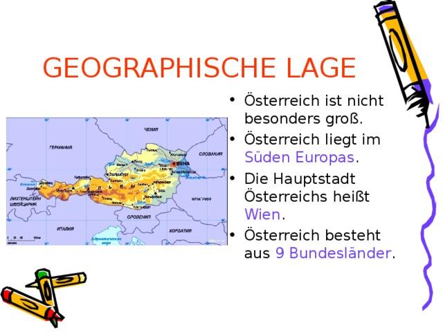 GEOGRAPHISCHE LAGE