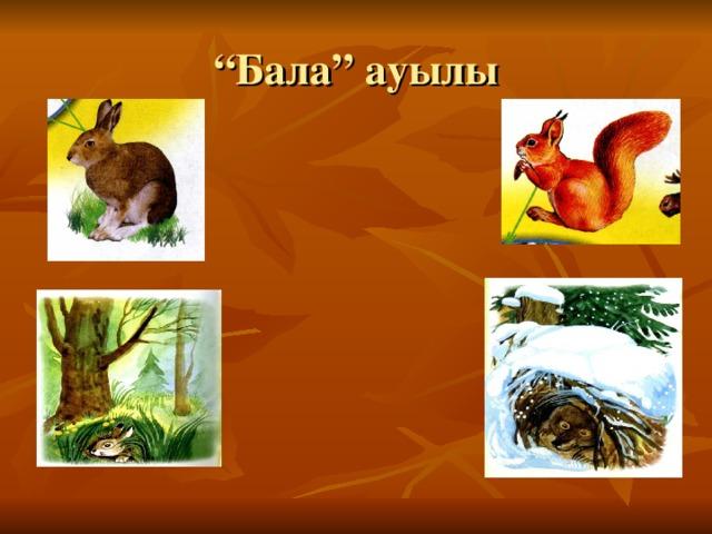 """"""" Бала"""" ауылы"""