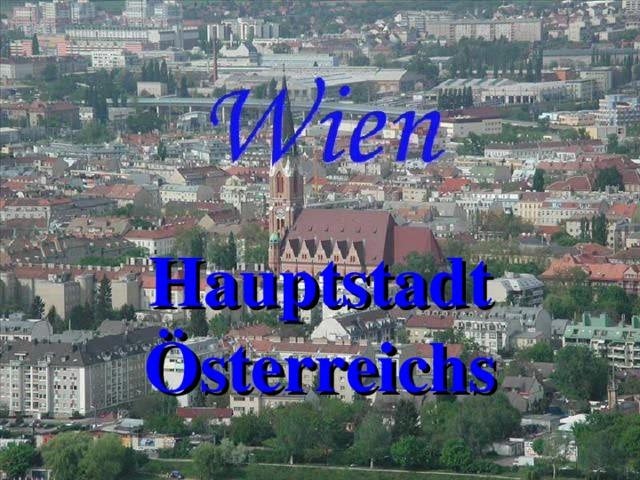 Hauptstadt Österreichs