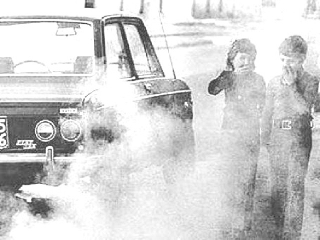 Длительный контакт со средой, отравленной выхлопными газами автомобилей, вызывает общее ослабление организма — иммунодефицит .
