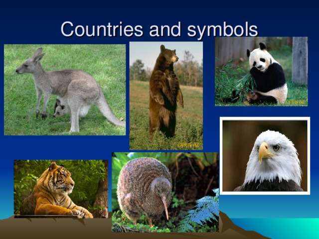 Countries and symbols