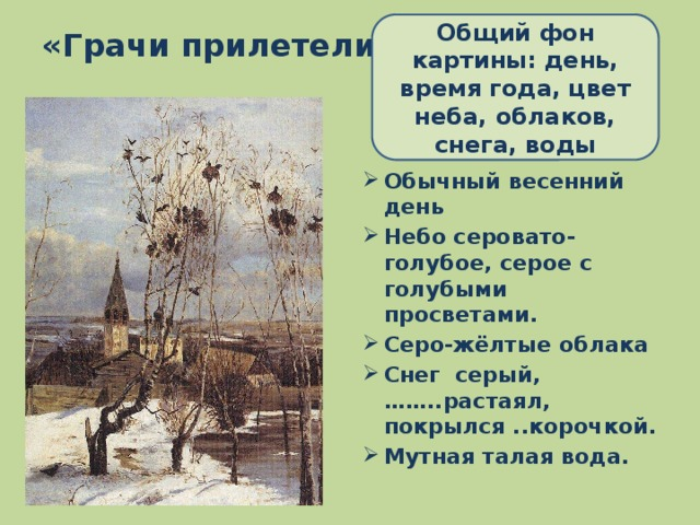 грачи прилетели фото сочинение коллекционеров