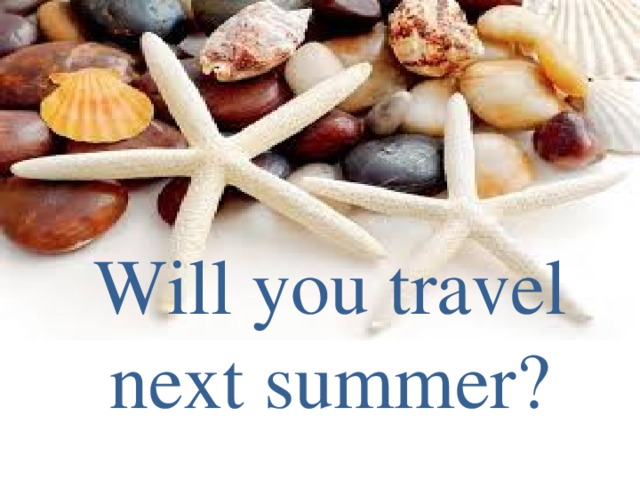 Will you travel next summer?