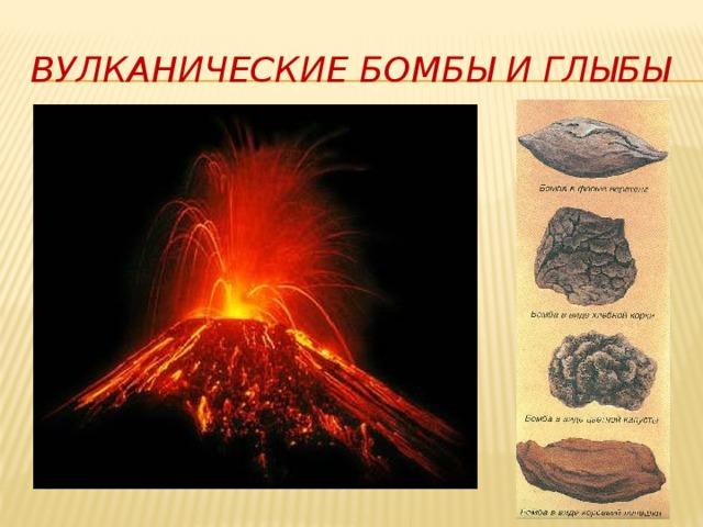 Вулканические бомбы и глыбы