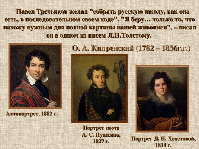 Павел Третьяков желал