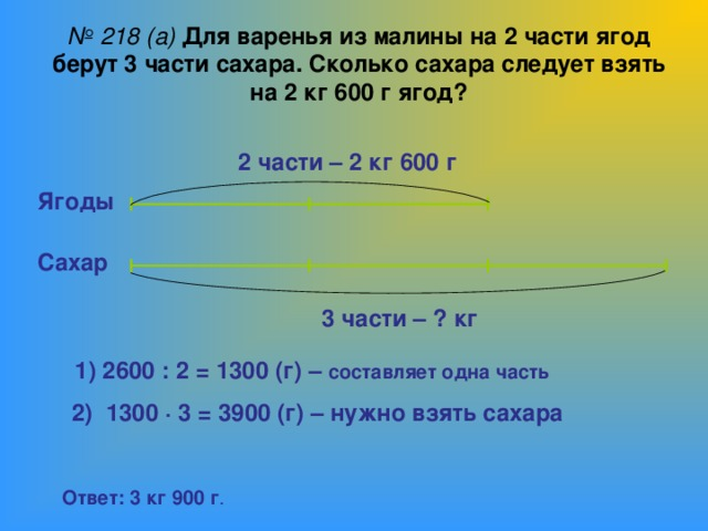 Решение задач на части арифметическим способом решение задачи на скорость сближения и