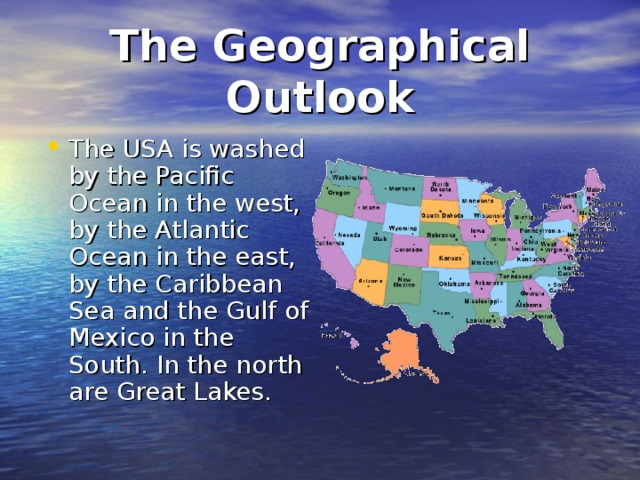 The Geographical Outlook