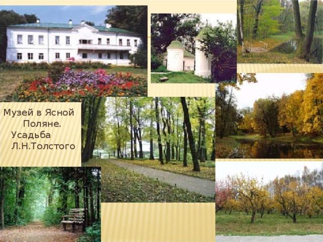 Музей в Ясной Поляне. Усадьба Л.Н.Толстого