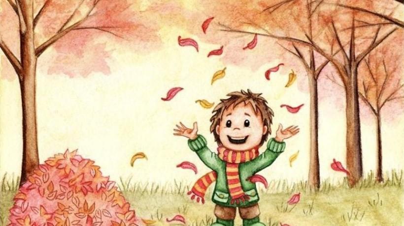 Осенние каникулы картинки прикольные анимация