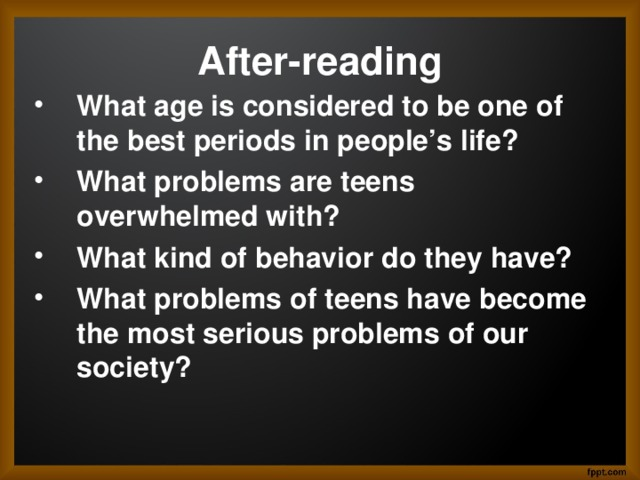 After-reading