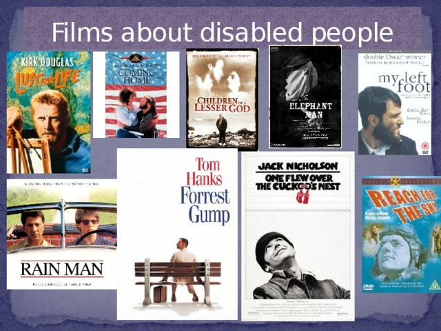 Films about disabled people
