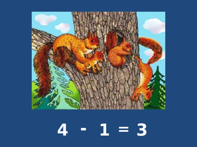 - 4 1 = 3